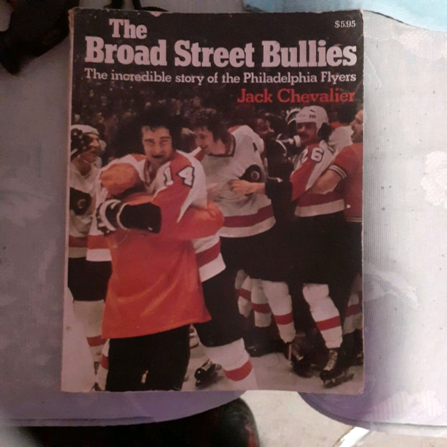 **VINTAGE**Broad Street Bullies book