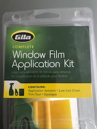Window film application kit new/ in box