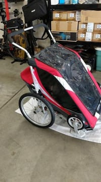 Cougar 2 Chariot bicycle (Thule bike) trailer