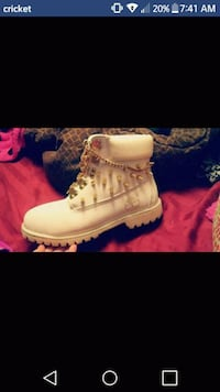 Timberland boots with gold spikes Nashville, 37211