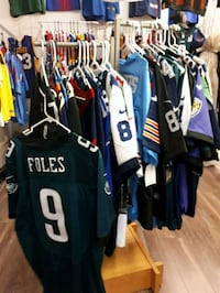 black and blue Nike jersey shirt Longueuil, J4T 2G2