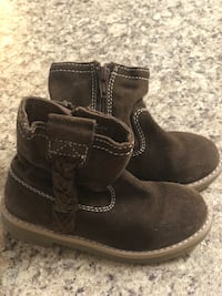 Zara leather boots, size 26