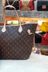 Louis Vuitton Monogram Canvas Tote Bag 6396 km