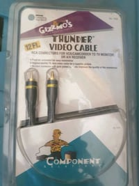 Gizzmo's thunder video cable