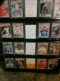 Card collection display