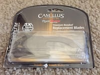 Camillus Tiger Sharp Titanium Bonded Pack of 4 Fixed Knife with Replacement Blades-Smooth Indianapolis, 46224