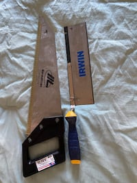 Dovetail saw and drywall saw