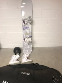 Burton snowboard - boots, bindings, helmet and bag included Falls Church, 22042