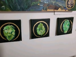 Beer Hops Paintings
