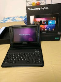 black BlackBerry PlayBook tablet computer with tab Sherwood Park, T8H