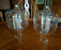 Glass vases $25 for 2 or $15 for one Valparaiso, 46385