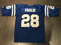 blue and white Manning 18 jersey shirt Toronto, M6B 1C9