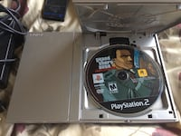 PS2 Silver Console with 2 controllers and Liberty City Stories  Burnaby, V5C 2K6