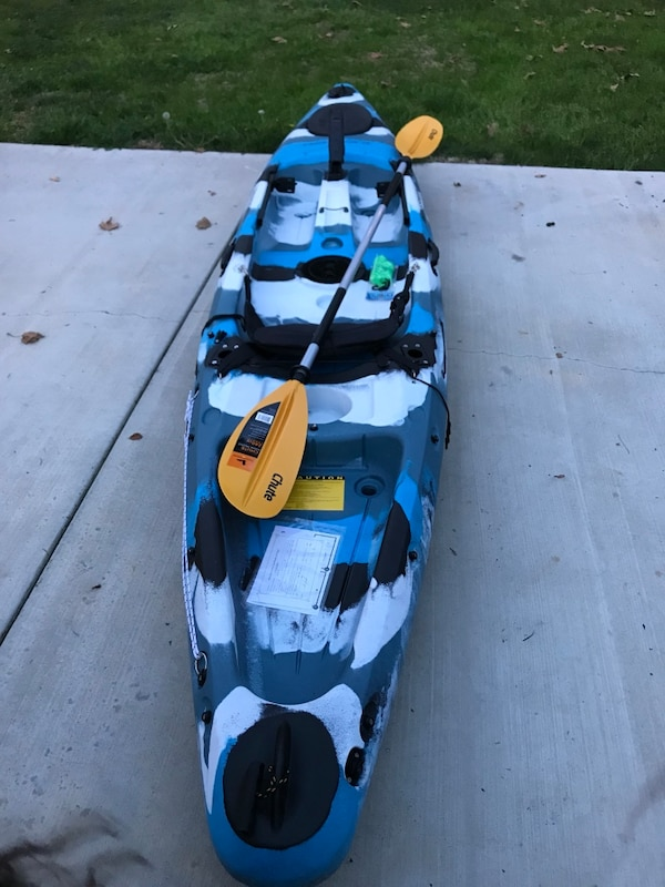 Used Field And Stream Eagle Talon Fishing Kayak 12 Foot Kayak For