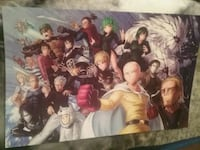 One Punch Man Anime Poster 11x17 Riverside, 92503