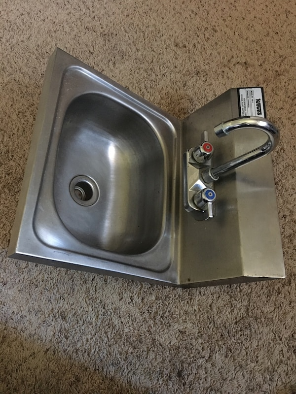 Used 16 Quot Krowne S S Wide Hand Sink For Sale In Houston Letgo