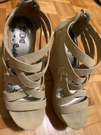 Wedge heels (negotiable price) Laval