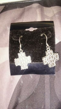 Silver colored earrings Chico