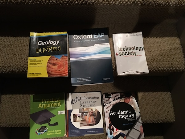 six textbooks