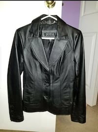 New Guess Leather Jacket