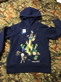 Minecraft Hoodie only worn once, boys 10-12 Waco, 76706