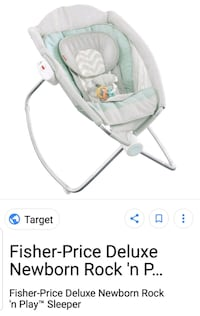 baby's white and green bouncer Hilliard, 43026