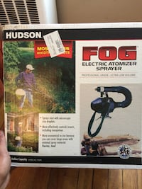 Hudson fog spray Concord, 03301