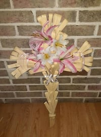 Handmade Easter Palm Cross for Cemetery