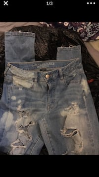 American eagle ripped jeans SIZE 10 Sunnyvale, 94085