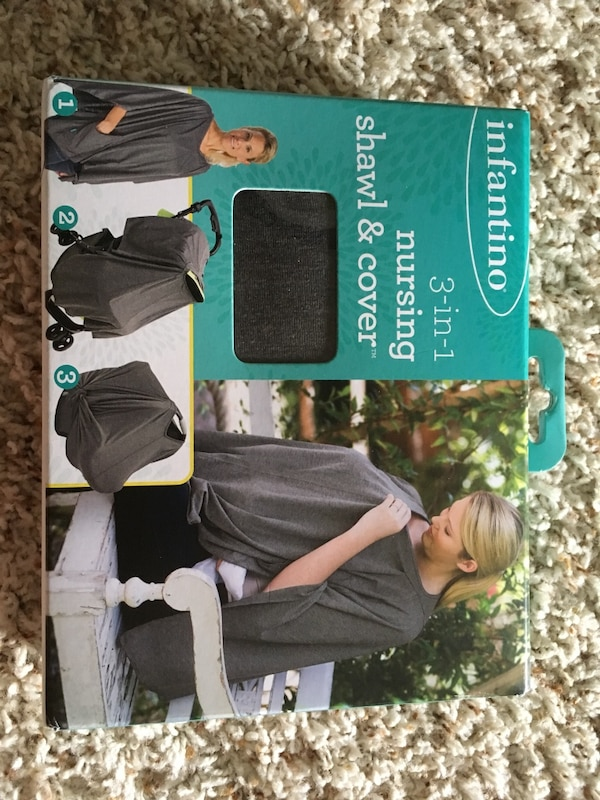 Infantino 3 in 1 Nursing Shawl & Cover