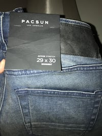 29x30 Brand New Young Men's PAC SUN jeans Davenport