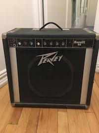 Peavey Bandit 65 guitar amp. Good vintage solid state amp from early 80s with Scorpion speaker. New York, 10033