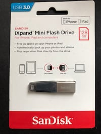 Sandisk 128GB iXpand Mini Flash Drive for Apple Devices Toronto