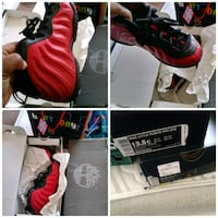 red and black little Nike (ps) basketball shoes Baltimore, 21239