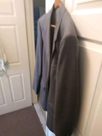 Large Men's Suit Coat-Grey Chillum