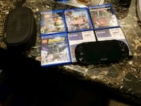 Sony PS4 console with controller and game cases Warsaw, 46580