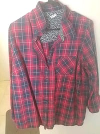 red and black plaid dress shirt Ottawa, K1V 8Z3