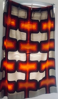 1960s verner panton curtain panels Los Angeles, 91601
