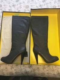 DOLCE VIDA Women's black leather boots Toronto, M6H 3Y2