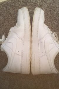 White nike Air Force 1s low (All white G Fazos) Falls Church, 22041