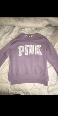 purple and white Pink by VS sweater Laurel, 20708