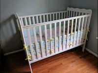 crib with mattress great condition like new West Springfield, 22152
