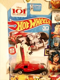 101 Dalmatians hot Wheels car