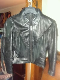 Leather coat Clinton, 49236