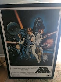 Star Wars repro art from 1993 Lucas film limited