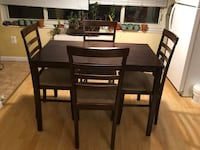 Dining Table Set (table with 4 chairs) Washington, 20036