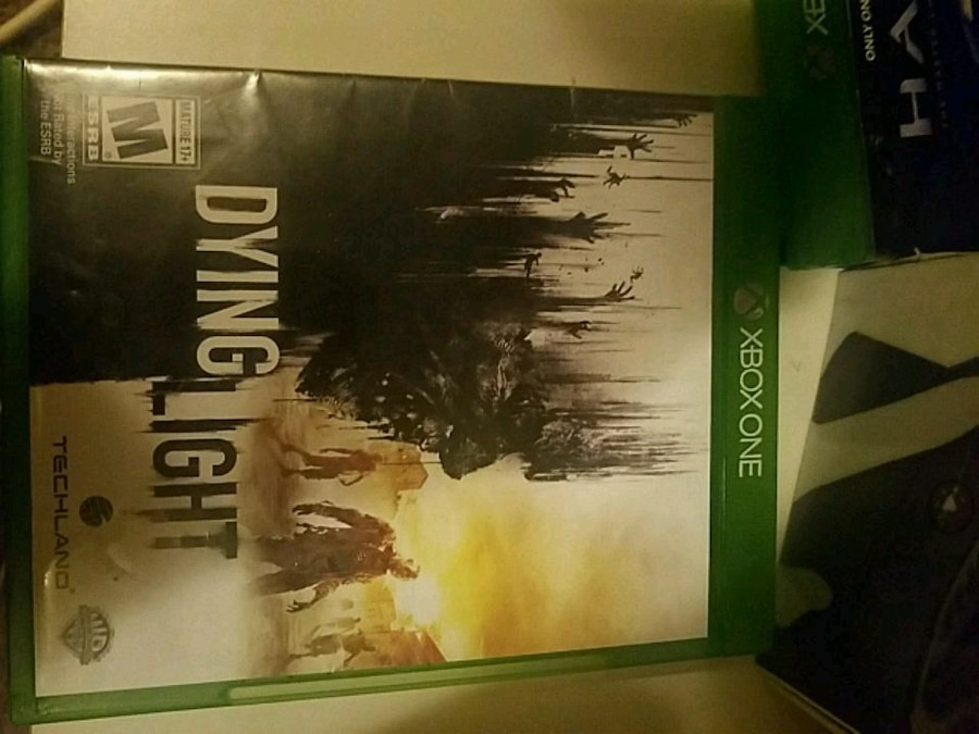 Photo Xbox one call of duty game case