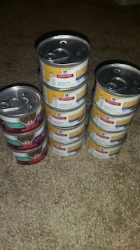 Hills Wet Cat Food. 8$ for all
