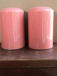 LARGE CORAL SALT AND PEPPER SHAKERS Grand Rapids, 49506
