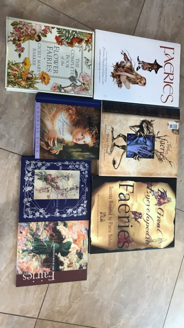 Fairy Book Collection of 6
